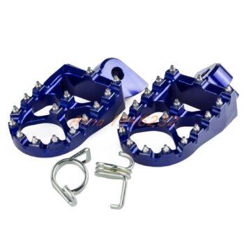 57mm-7075-Blue-Wide-Footrests-Foot-Pegs-For-Yamaha-YZ85-YZ125-YZ250-YZ125X-YZ250X-YZ250F-YZ450F