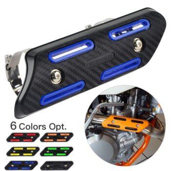 Exhaust-Muffler-Pipe-Heat-Shield-Cover-Guard-Protector-For-Yamaha-YZ250F-YZ450F-WR250F-WR450F-For-Kawasaki