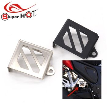 For-Honda-CB150R-CB300R-CB125R-CB250R-Motorcycle-Accessories-Rear-Brake-Fluid-Reservoir-Guard-Cover-Protector