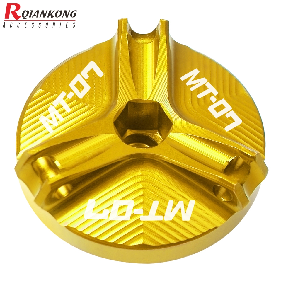 For-Yamaha-MT-01-MT-03-MT-25-MT-07-Motorcycle-Accessories-Engine-Oil-Plug-Nut-1