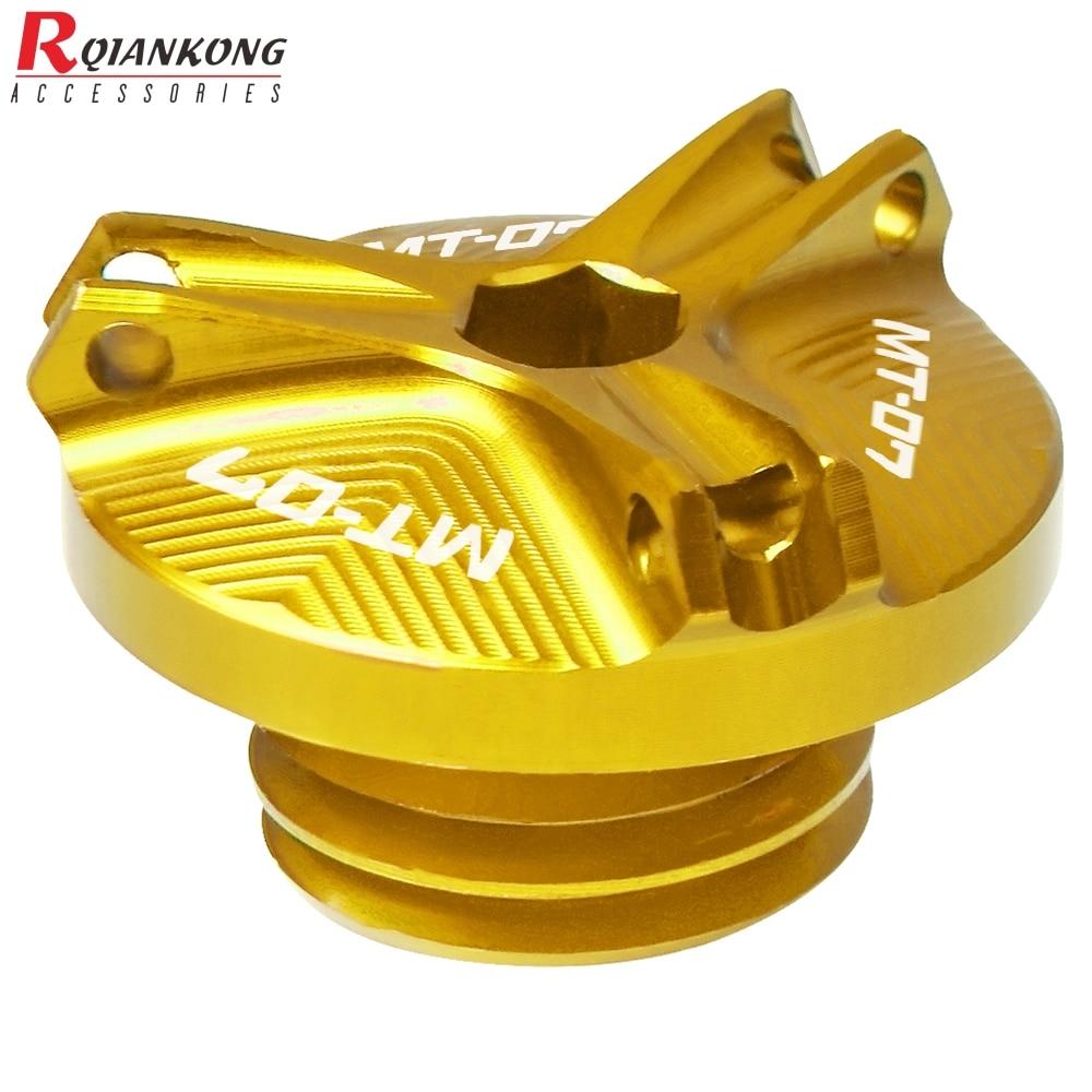 For-Yamaha-MT-01-MT-03-MT-25-MT-07-Motorcycle-Accessories-Engine-Oil-Plug-Nut-2