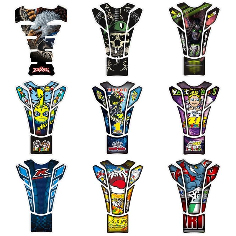 New-Motorcycle-Tank-Protection-Pad-Tank-Styling-Universal-Sticker-Refit-Custom-Creativity-Racer-Eagle-Shark-Cartoon