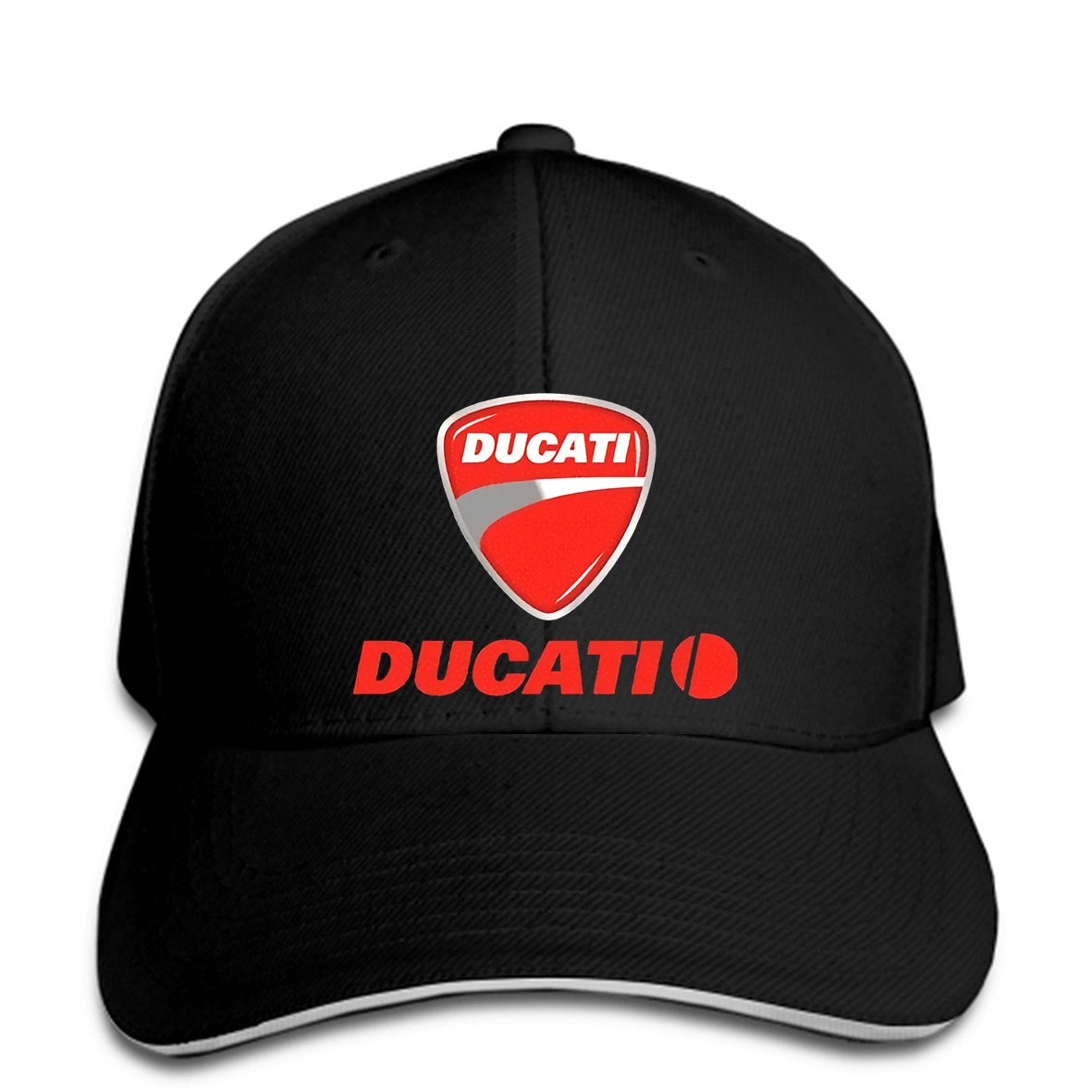 Baseball-Cap-della-Ducati-racing-snapback-hat-Peaked